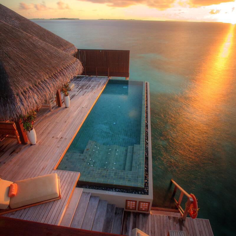 Royal Ocean Suit Ayada in Maldives
