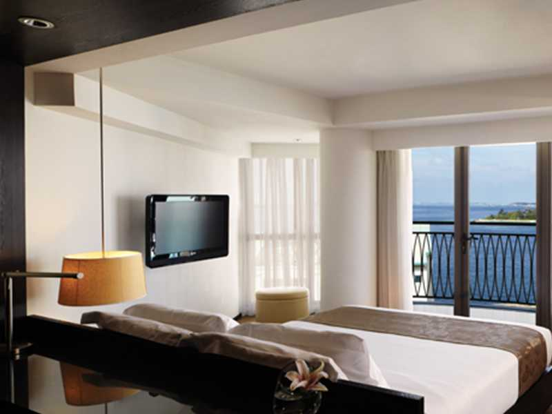 Modern amenities of the executive rooms of the hotel