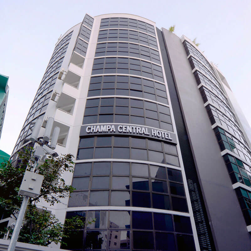 Champa Central Hotel images