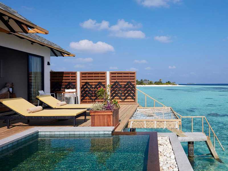 Over Water Pool Villa gallery images