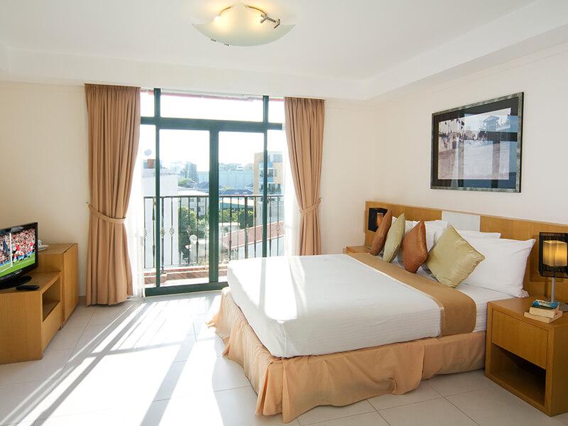 Splendid views from the superior room Maldives