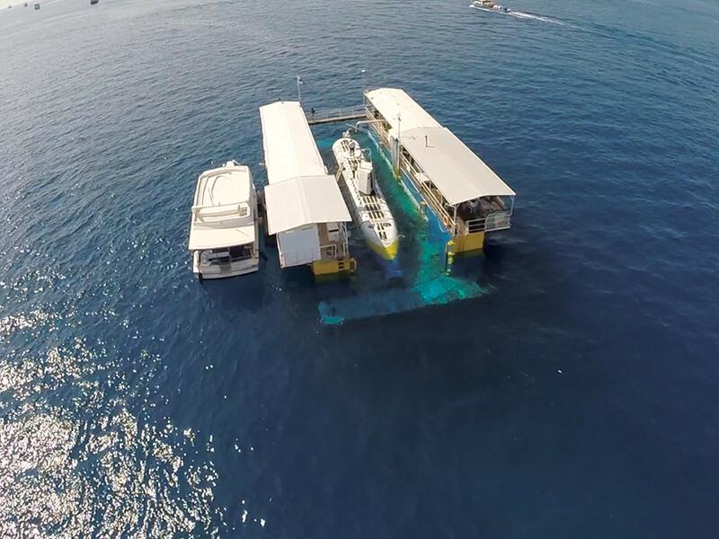 Submarine cruise in Maldives