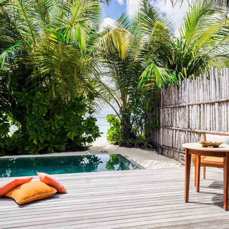 Private villa outdoor swimming pool