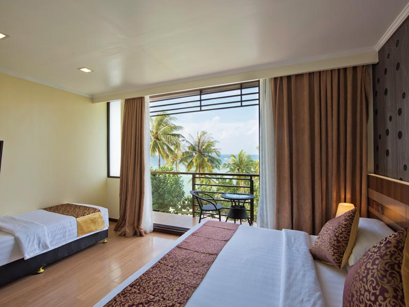 Arena super deluxe rooms with spectacular views of Maldives islands