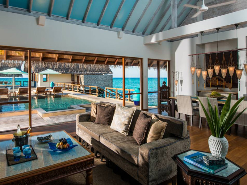 Three-Bedroom Land And Ocean Suite gallery images